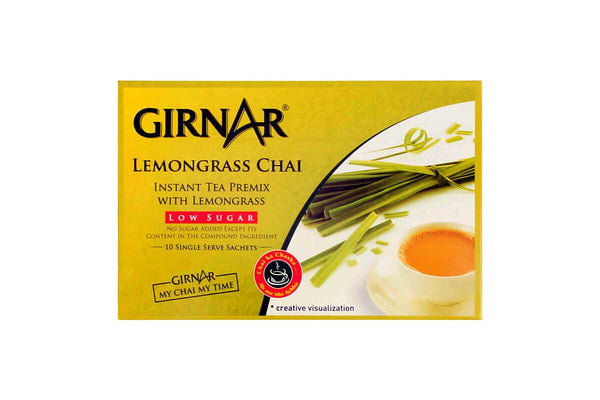 Girnar Lemongrass Chai Low Sugar