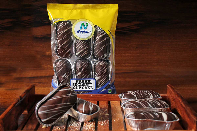 MAWA CAKES WITH CHOCOLATE COATED PACK OF SIX