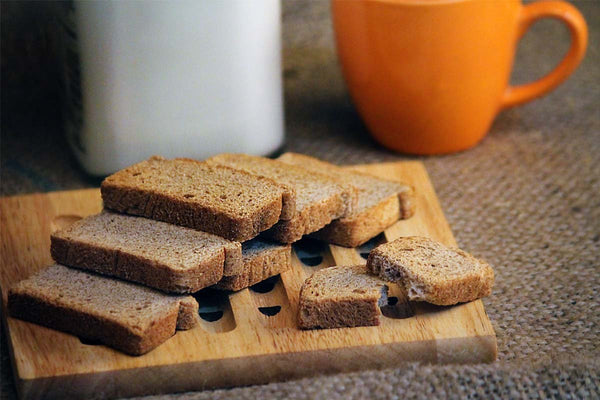 Low Fat Nachani Toast