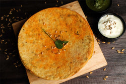 Low Fat Whole Wheat Chora Methi Khakhra
