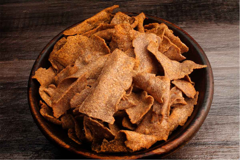 Low Sodium Salt Nachani,RAGI Chips CRUNCHY SNACKS
