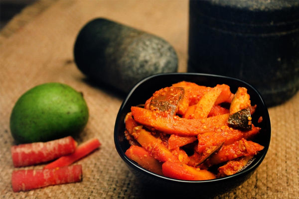 Masala Carrots Pickle