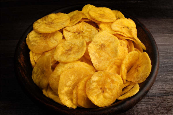 Low Fat Banana Chips Extra Thin Plain