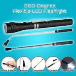 360 Flexible LED Magnetic Pick-Up Flashlight