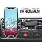 Universal 5 Point Gripper Car Phone Mount