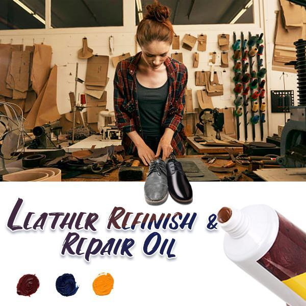 Leather Refinish and Repair Oil