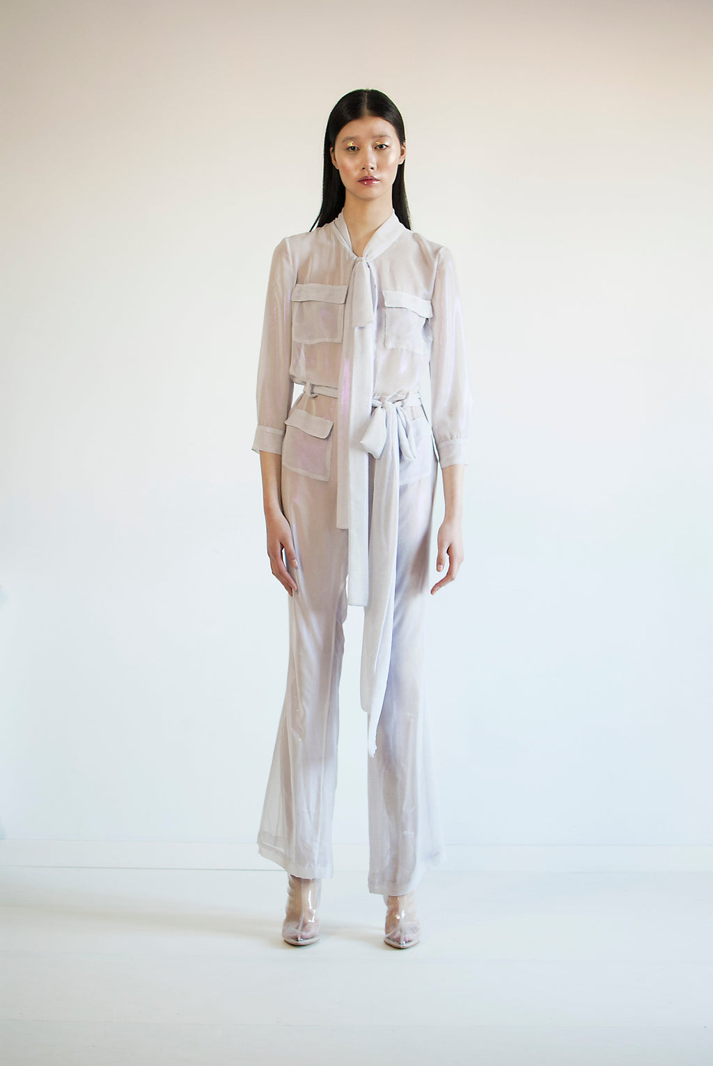 Iriscent jumpsuit