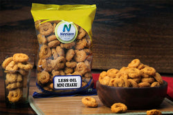 LESS OIL MINI CHAKLI CRUNCHY NAMKEEN