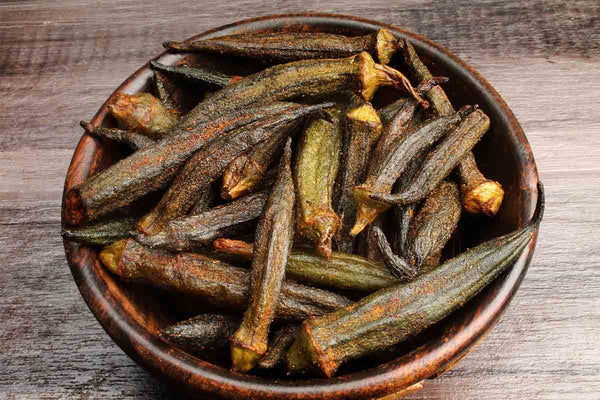 Introducing Masala Okra Chips Vaccum Fried Chips
