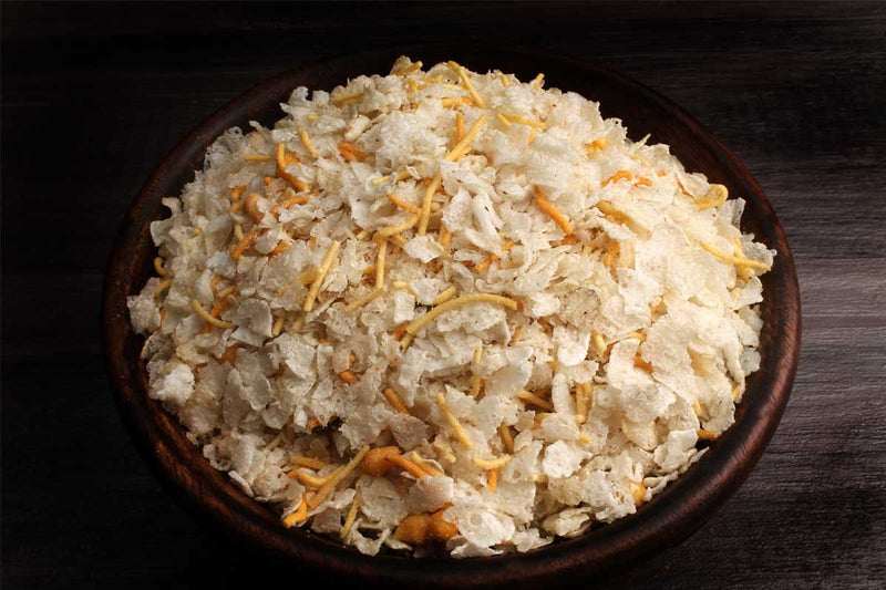 Low Fat Rice Flackes Chivda