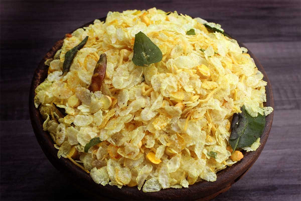 Low Fat Rice Flack Chivda Yellow
