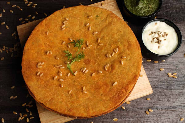 Low Fat Whole Wheat Pizza Khakhra