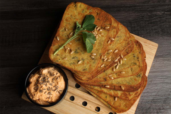 Low Fat Whole Wheat Soya Methi Khakhra  Mobile