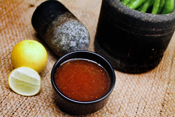 Oil Free Lemon Chutney