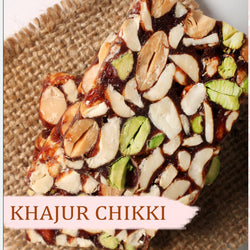 KHAJUR CHIKKI SWEET NO SUGAR 250 GM
