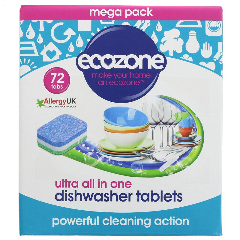 Ecozone Dishwasher Tablets All In One
