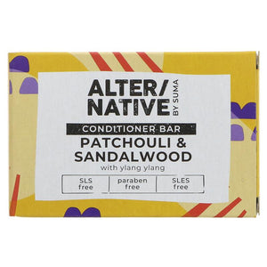 Alter/native By Suma Hair Conditioner Bar - Patchouli