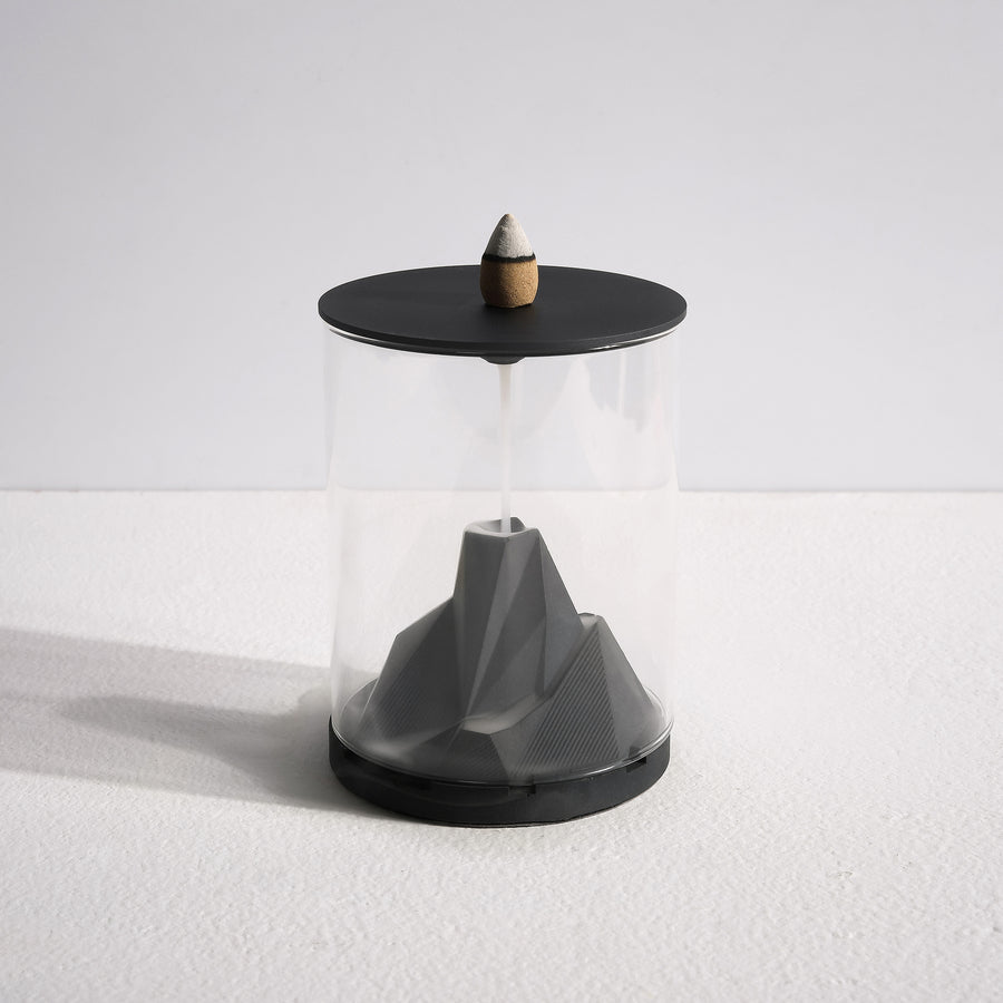 Caldera Terrarium Backflow Incense Burner