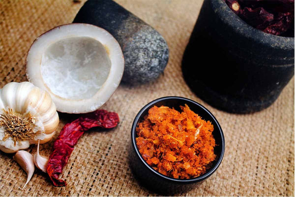 Garlic Chutney Coconut