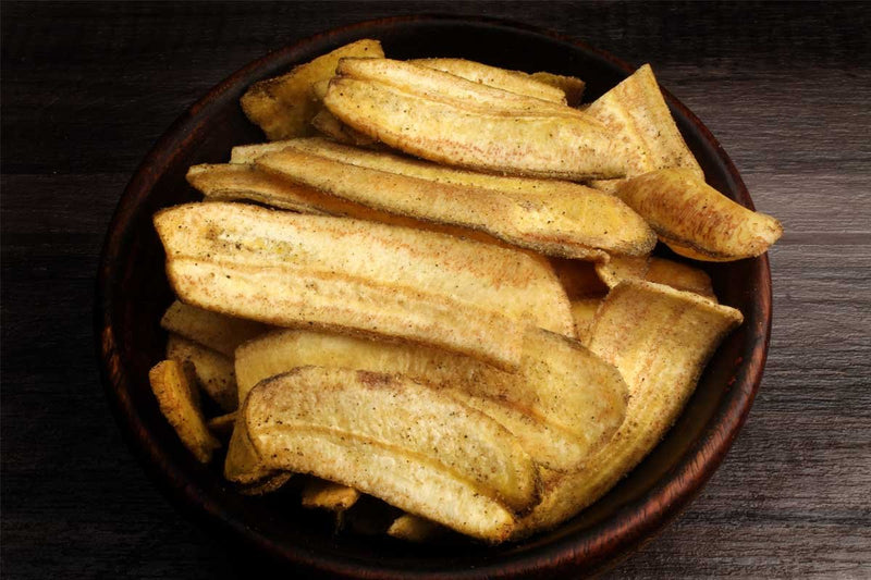 Low Fat Banana Chips Black Pepper