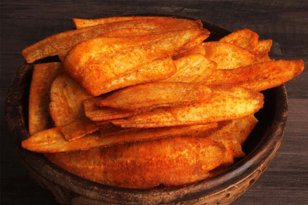 Low Fat Banana Masala Chips
