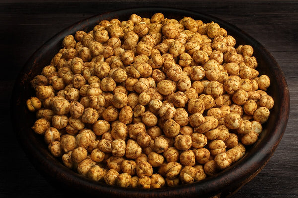 Low Fat Chana Pudina