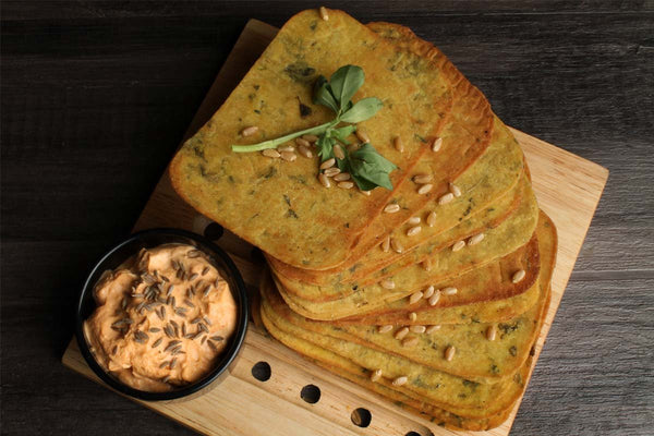 Low Fat Whole Wheat Methi Khakhra Mobile