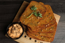Low Fat Whole Wheat Methi Masala Khakhra Mobile