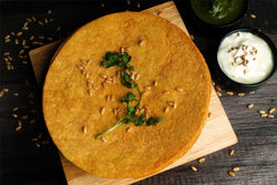 Low Fat Whole Wheat Papadi Chat  Khakhra