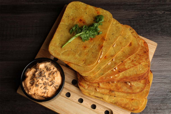 Low Fat Whole Wheat Punjabi Khakhra Mobile
