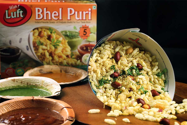 READY TO EAT LUFT BHEL PURI BOX