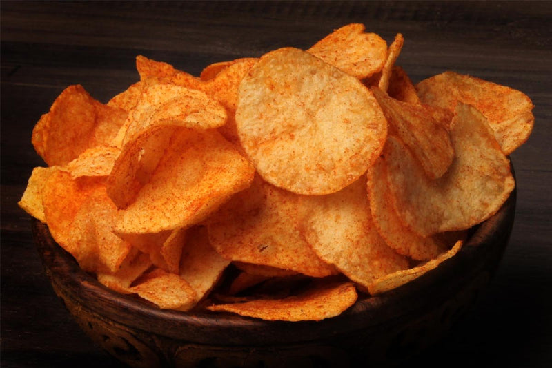 Potato Chips Tomato Frill