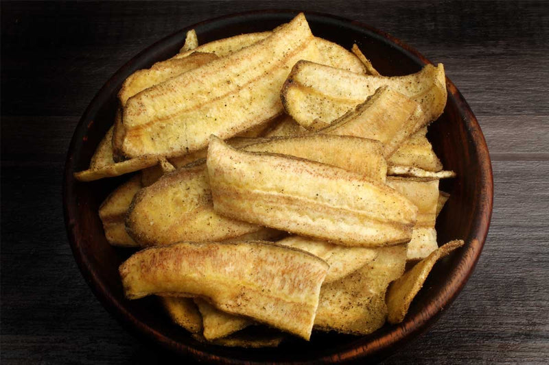 Salt Free Banana Chips Black Pepper