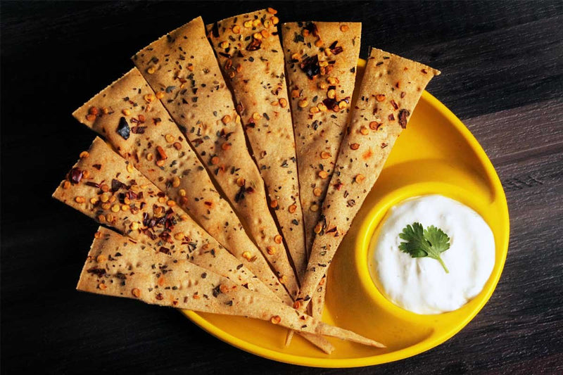 Whole Wheat Paprica Lavash
