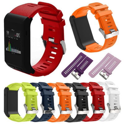 Wristband Adjustable Silicone Watch Wrist Band Kit for Garmin Vivoactive HR
