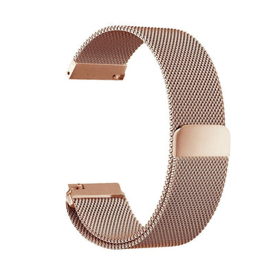 Magnetic Milanese Stainless Wrist Band Wristband Strap For Garmin Vivoactive 3