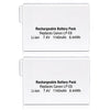 2X LP-E8 Replacement Li-ion Battery Replacement for Canon EOS 550D 600D 650D 700D