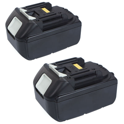 2X  18V 5.0Ah Lithium Ion Replacement Battery LXT For Makita BL1830 BL1815 Pack 18 Volt