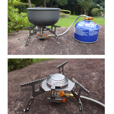 3500W Portable Gas Stove Burner Outdoor Picnic Cooking Hiking Camping Cooker AUS