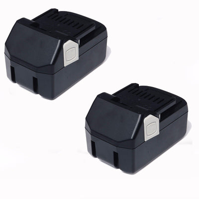 2x 18V 4.0AH Li-ion Battery Replacement for Hitachi BSL1815 BSL1830 BSL1840 BSL1850 CJ18DSL