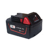 6.0Ah 18V Red Lithium Ion XC 6.0 Battery Replacement For Milwaukee M18 M18B4 48-11-1828