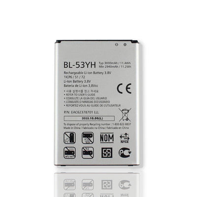 3000mAh Replacement Battery for LG G3 D850 851 855 BL-53YH