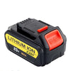 5.0AH 20V Li-ion Battery Replacement For Dewalt DCD785 DCB180 DCB181 DCB200 with Fuel Guage