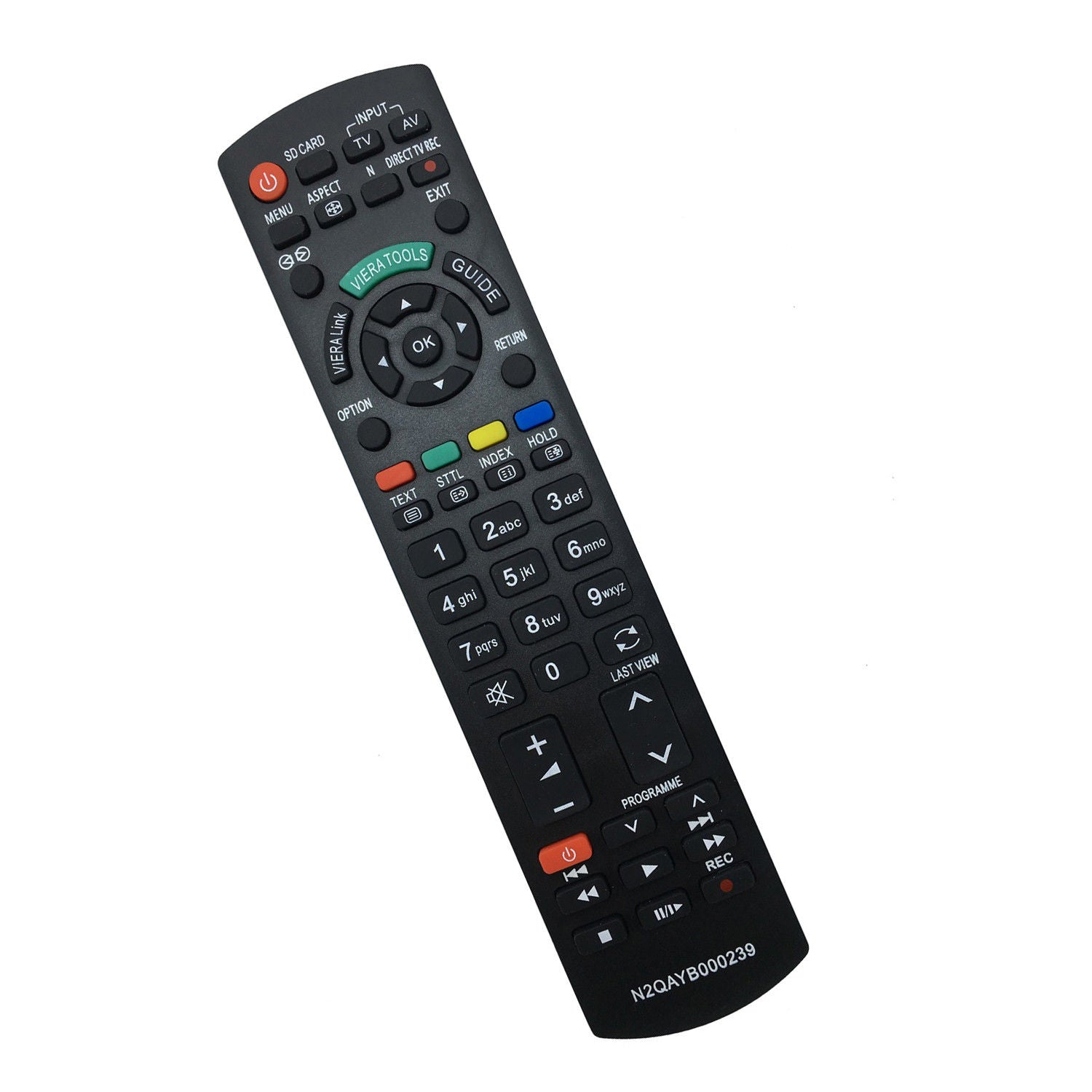 Højmoderne Replacement Remote N2QAYB000239 for Panasonic LCD TV PLASMA sub VZ-03