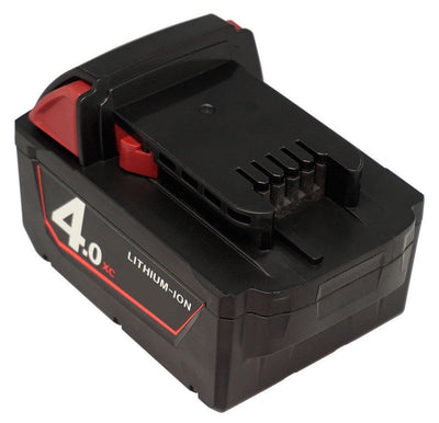 3x 18V 4.0Ah Red Lithium Ion XC 4.0 Battery For Milwaukee M18 M18B4 48-11-1828