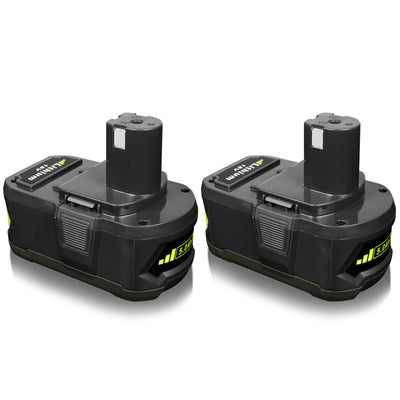 2PACK 5.0AH P108 18V Li-ion Battery Replacement for Ryobi One Plus P102 P103 P104 P105 P107