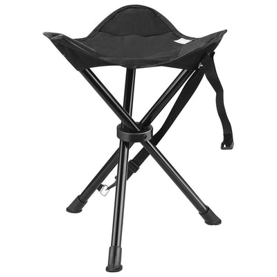 Foldable Tripod Stool Chair Camping Hiking Fishing Seat 3 Legs 200lbs