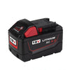 9.0Ah 18V Red Lithium Ion XC 9.0 Battery Replacement For Milwaukee M18 M18B4 48-11-1828