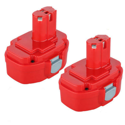 2x 18V 3.0AH NI-MH Battery Replacement For Makita 1822,1823,1833,1834,1835,1835F,PA18,4334D