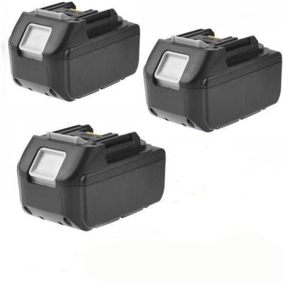 3x 5.0AH 18V Battery For Makita BL1850 BL1840 BL1830 BL1815 Lithium Ion Cordless